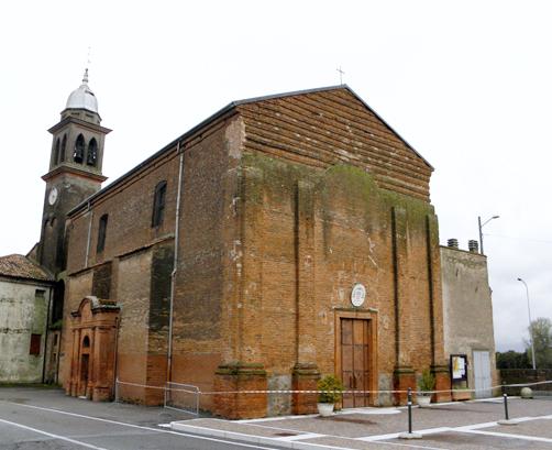 Chiesa di S. Sebastiano Martire a Crocetta - Badia Polesine (RO)