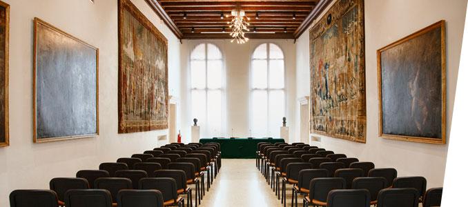 Foto di Sala degli Arazzi a Palazzo Roncale